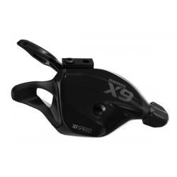 Manette de dérailleur SRAM vtt gauche 2v Trigger X-9 ZéroLoss noire