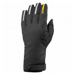 Gants longs MAVIC hiver Ksyrium Pro Thermo noir décor argent