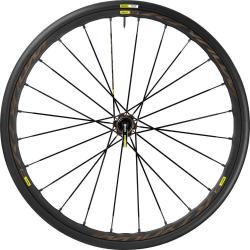 Roue à pneu 700 MAVIC route Ksyrium Pro Disc Allroad 28 noire décor gris avant 12x100