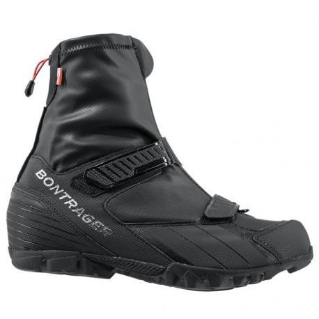 Chaussures BONTRAGER vtt hiver OMW OldManWinter noir décor argent