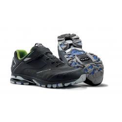 Chaussures NORTHWAVE 2016 vtt Spider 2 noir décor vert fluo