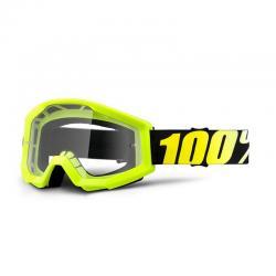 Masque 100% vtt Strata jaune fluo