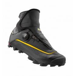 Chaussures MAVIC vtt hiver Crossmax SL Pro Thermo noir décor jaune