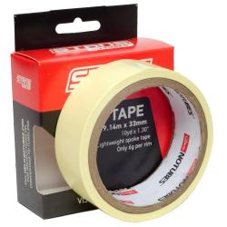 Fond de jante NOTUBES autocollant étanche Rim Tape 33mm jaune x 9.14m