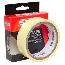 Fond de jante NOTUBES autocollant étanche Rim Tape 30mm jaune x 9.14m