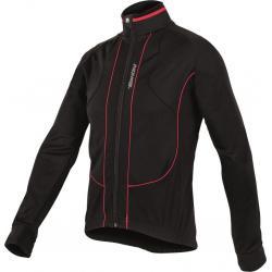 Veste thermique SANTINI hiver Octa noir décor rouge