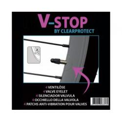 Film antivibration CLEARPROTECT transparent V-stop 4 pièces