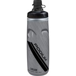 Bidon isotherme CAMELBAK Dirt Series Podium Chill 0.6 Litre gris décor noir