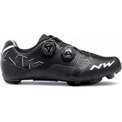 Chaussures NORTHWAVE vtt Rebel noir décor gris