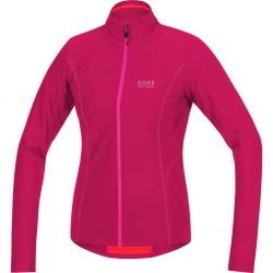 Maillot manches longues GORE BIKE femme E Lady Thermo rose fuschia