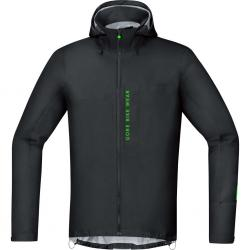 Veste imperméable GORE BIKE Power Trail GoreTex Active Shell noir