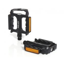 Pédales XLC alu route vtc vtt Ultralight PD-M11 noir