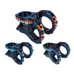 Potence SB3 alu vtt Flowy En 31.8 noir décor orange