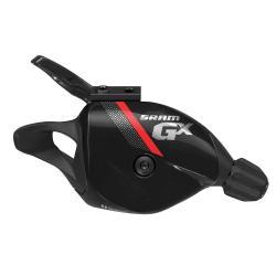 Manette de dérailleur SRAM vtt droite 11v Trigger GX noir décor gris