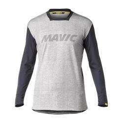 Maillot manches longues MAVIC vtt Deemax Pro Edition Limitée Sam Hill gris décor noir