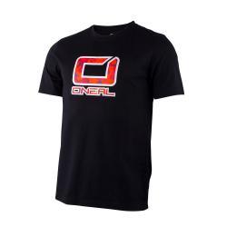 T-shirt manches courtes ONEAL 2015 Slickrock noir décor rouge