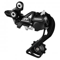 Dérailleur arrière SHIMANO vtt 10v XT-786 Shadow+ Dynasys noire chappe blocable noire