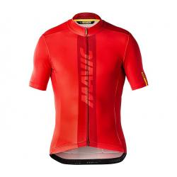 Maillot manches courtes MAVIC Cosmic rouge