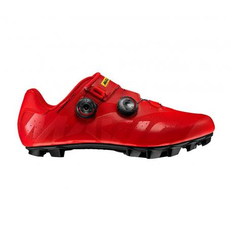 Chaussures MAVIC vtt Crossmax Pro rouge mat