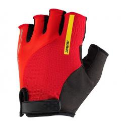 Gants courts MAVIC Ksyrium Elite rouge