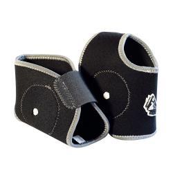Protection malléoles TRICKX coque rigide noir décor gris