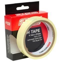 Fond de jante NOTUBES autocollant étanche Rim Tape 21mm jaune x 9.14m