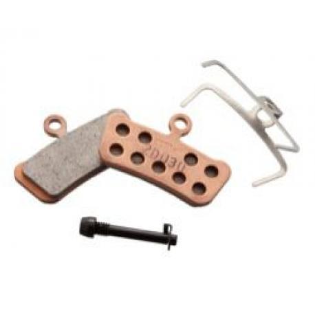 Plaquettes de frein SRAM support acier Guide R RS RSC Elixir Trail XO X9 X7