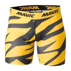 Sous-short MAVIC vtt Deemax Pro noir décor jaune Mavic