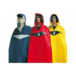 Poncho impermèable HOCK nylon SuperPraktiko rouge