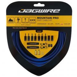 Cables+Gaines JAGWIRE vtt dérailleur Mountain Pro Shift Sid Blue