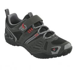 Chaussures SCOTT vtt Trail gris décor noir et rouge