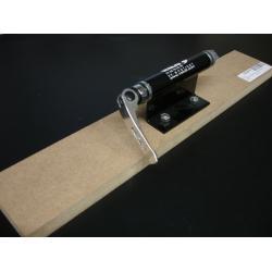Support vélo intèrieur BYLO métal Fourche Axe 9/15mm noir sur planche pour 1 vélo