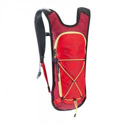 Sac à dos EVOC hydratation all mountain CC 3L rouge rubis décor jaune