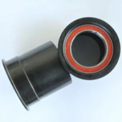 Cuvettes pédalier+roulements ENDURO intégrées PF30 BB PressFit d46x73mm avec manchon pour boitier cadre sans filetage