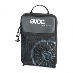 Trousse à outils EVOC rembourrée Tool Pouch noir décor blanc