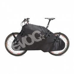 Housse de protection EVOC rembourrée Padded Bike Rug noir décor blanc