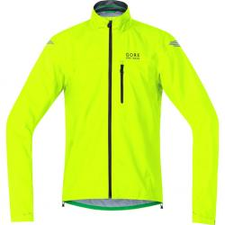 Veste imperméable GORE BIKE E GoreTex Active Shell jaune néon fluo
