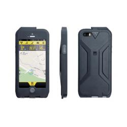 Etui téléphone TOPEAK support iPhone 5 WeatherProof RideCase gris noir