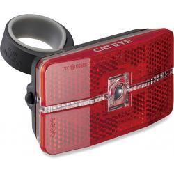 Feu arrière CATEYE rouge à pile Auto LD 570 noir 1 led