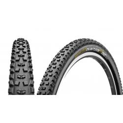 Pneu 29p CONTINENTAL vtt Mountain King II Performance 29 Tubeless Ready noir flancs noirs