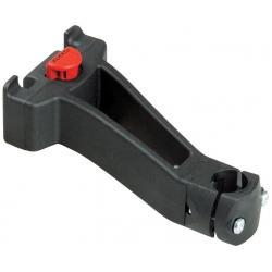 Fixation avant KLICKFIX polyamide Déporté KR810 sur plongeur de potence verticale de diamètre 22 à 36mm pour fixation