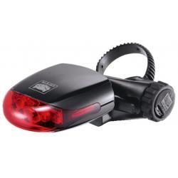 Feu arrière CATEYE 2014 rouge à pile LD 270 G noir