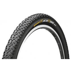 Pneu 27.5p CONTINENTAL vtt Race-King Performance 27.5 PureGrip Tubeless Ready noir flancs noirs