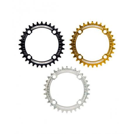 Plateau 104 HOPE alu vtt Retainer Ring or