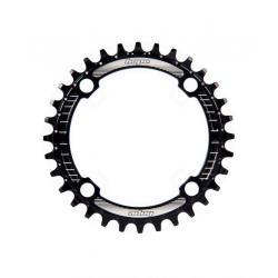 Plateau 104 HOPE alu vtt Retainer Ring noir