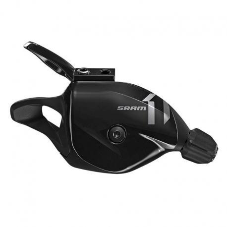 Manette de dérailleur SRAM vtt 11v Trigger X1 noire décor gris