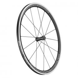 Roues à pneu 700 CAMPAGNOLO route Scirocco noir décor blanc et gris