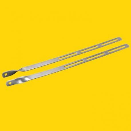 Tringlerie avant TOPEAK acier inox long 32.5cm