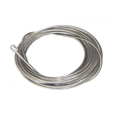 Cable de dérailleur CAMPAGNOLO acier inox UltraShift 1.2 avant 1.60m