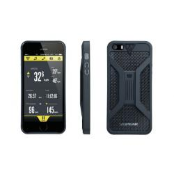 Etui téléphone TOPEAK support iPhone 5 RideCase noir
